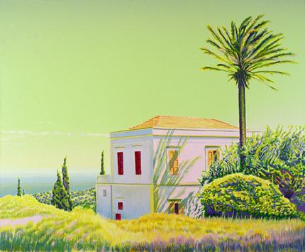 Die Villa mit der Palme